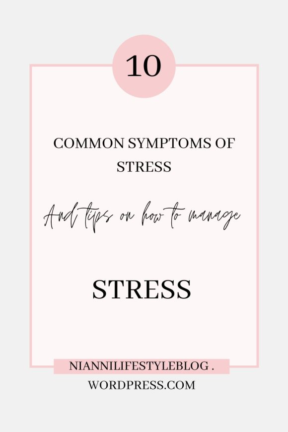 Pinterest pin on stress management tips